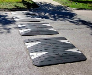 Speed Cushions or Speed Lumps